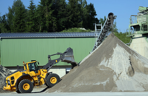 Sand aus dem Kieswerk Neubeuern/Raubling